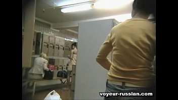 Dutch spa voyeur - changing room A3