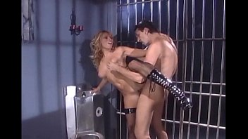 Inmate Fucks Brunette With Big Tits In Prison