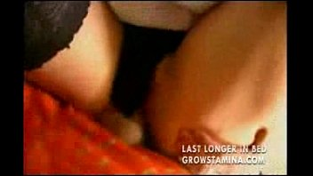 Stepson fucks his stepmom. Sex with stepmother before bedtime